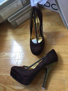 6 pairs of Dollhouse, David Nixon, La Chateau high heels