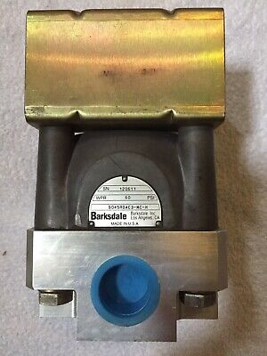Barksdale 9045roac3-mc Industrial Valve 1npt Airhydraulic 3-position