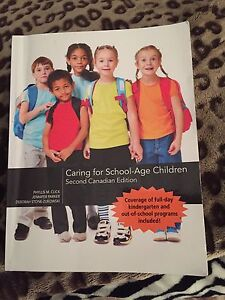 Caring for School-Age Children textbook  Kitchener / Waterloo Kitchener Area image 1