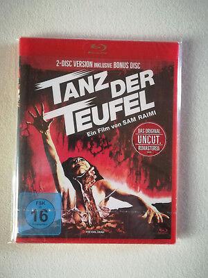 Tanz der Teufel, 2 Blu-rays inkl. Bonus Disc, Bruce Campell Uncut, Neu und OVP ! (Halloween Und Der Teufel)