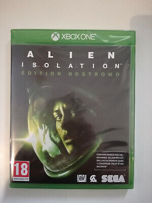 alien isolation édition nostromo edition xbox one xboxone neuf sous blister