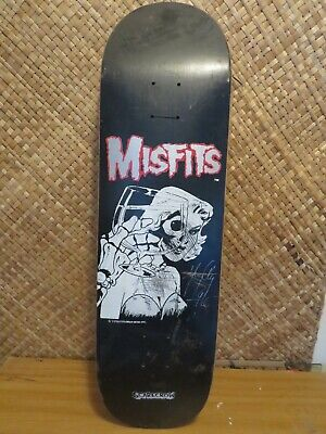 1996 Scarecrow Misfits Hardcore OG Punk skateboard deck RARE NOTE CONDITION