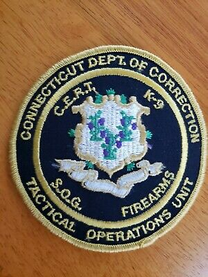 HIGH DESERT TACTICAL NEVADA CORRECTIONS HRT STATE POLICE SWAT PATCH J34