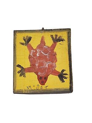 Mose T Mose Tolliver Folk Art Turtle Alabama Folk Art