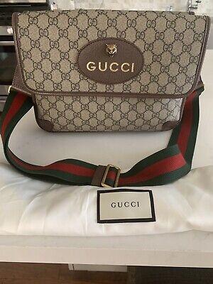 Gucci Neo Supreme Large Vintage Messenger Bag