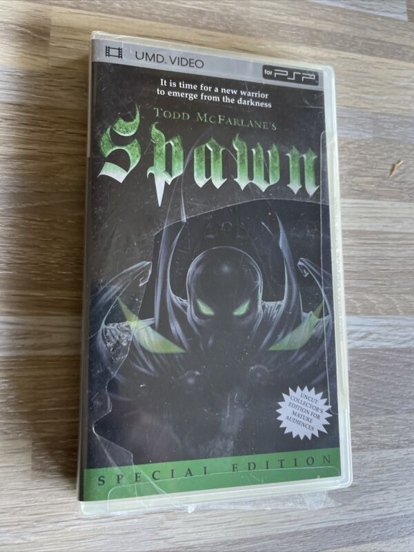 Todd McFarlanes Spawn (UMD, 2005) UMD Videos for PSP Brand New