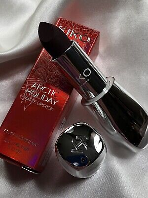 KIKO MILANO Arctic Holiday Lipstick 05 Deep Burgundy + Holiday Clutch