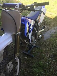 2005 YZ 125 with aftermarket parts