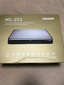 Qnap HS-251  2G  brand new with 2 hard drive 2 Tb that's 4 TB Campbelltown Campbelltown Area Preview