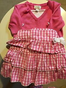 Children's Place Pink sweater and skirt set size 3t London Ontario image 1