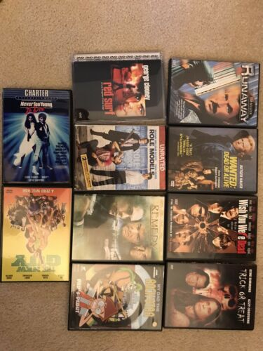Kiss Gene Simmons Ace Frehley Ozzy Osbourne Movie DVD Lot Collection Gently Used - $69.95