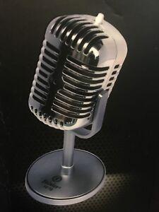 Microphone look rétro