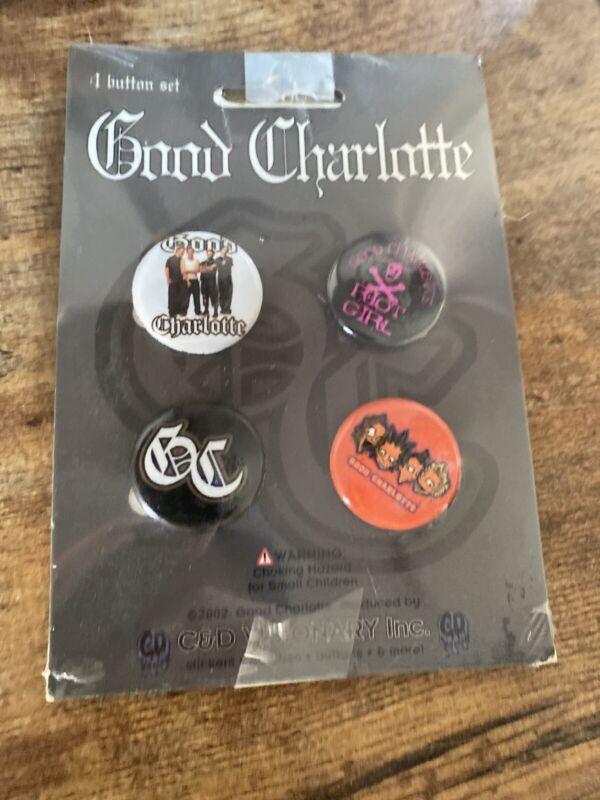 Good Charlotte - Original Hot Topic Pin Set