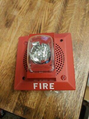 Faraday Fire Alarm Speaker With Strobe 2959b1425v Nib