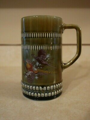 Wade Irish Porcelain 20 OZ Tankard / Stein / Mug with Pheasants for sale  Belleville