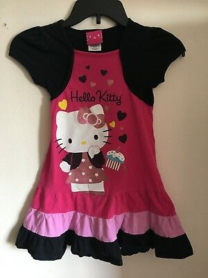 Sale Hello Kitty Girls Dress Short Girl party dresses Little girls party - Sale Girls Dresses