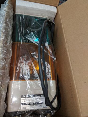 KJB-220, Patlite, Ct Stack Light W/Alarm Ac220V Green/Amber