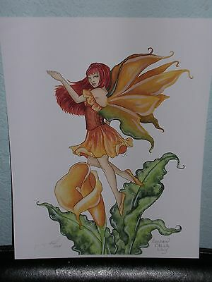 Amy Brown - Golden Calla Lilly - OUT OF PRINT