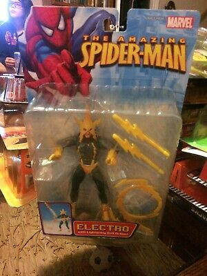 Marvel Legends Universe ELECTRO Spider Man Foe MIB 2006 Toy Biz