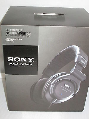 SONY MDRV600 STUDIO MONITOR SERIES HEADPHONES: MDR-V600 Sony Studio Monitor