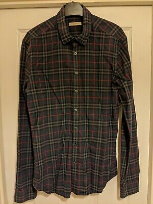 Burberry Brit Mens Nova Check Shirt medium