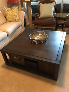 Coffee Table with Shelf Chatswood Willoughby Area Preview