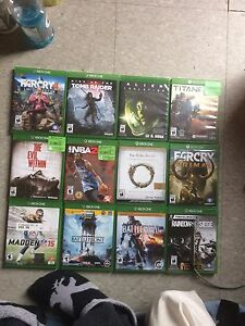 Xbox one games 30-45$ each or make an offer