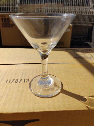 6 Libbey 3771 Embassy 5 oz. Martini Glass