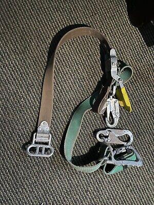 Buckingham Bucksqueeze Lineman Climbing Fall Protection Belt 483d