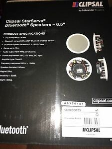Bluetooth speaker system 6.5 inch with power supply Balmoral Brisbane South East Preview