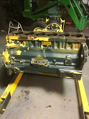 John Deere Tractor 6076tf-00 Engine Block 4055 4255 4455 4555 4560 4760