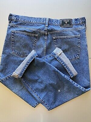 Vintage Versace Jeans Couture Mens Denim Made In Italy Authentic 38x29 Medusa