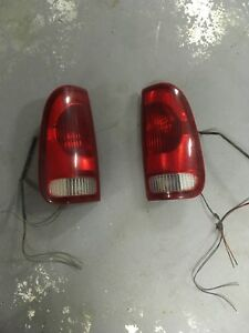 2002 Ford Superduty tail lights