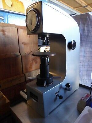 Lightly Used Rockwell Hardness Tester For Rockwell A B And C Ranges