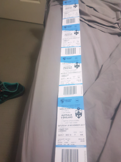 4 day 3 ashes tickets for the Gabba