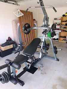 Force USA gym setup, bench press,lat pull down Hillcrest Logan Area Preview