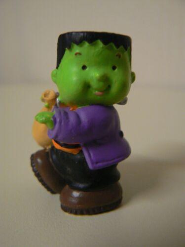 Hallmark Merry Miniatures Frankenstein Figurine QFM8159 Friendly Monster Kid