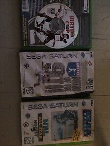 3 Sega Saturn games, make an offer