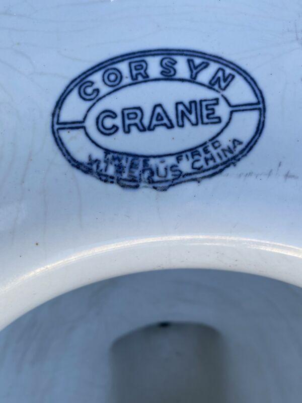 Corsyn Crane Toilet White 1940