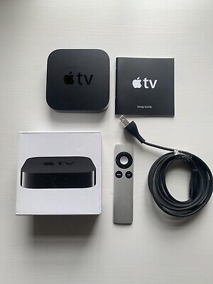 Apple TV (3rd Generation) HD Media Player - Black