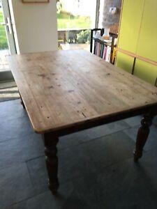Pine Kitchen Table Ebay Elvisoeco