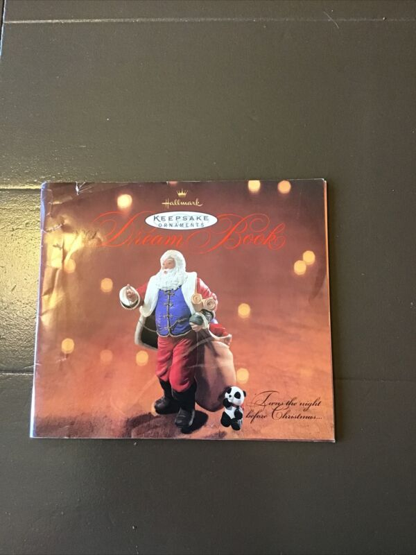 2001 Hallmark Dream Book Ornament Catalog