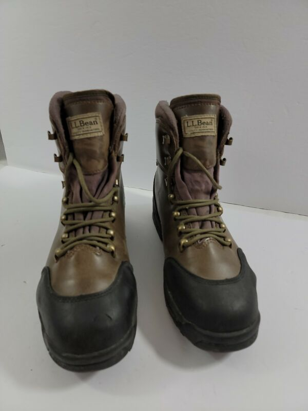 LL BEAN FLY FISHING BOOTS STUDDED RIVER TREADS AQUA STEALTH Size 9