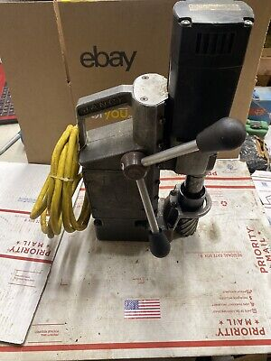 Jancy Magnetic Mag Drill Press Boring Machine 115v 8a Ed4u 8204