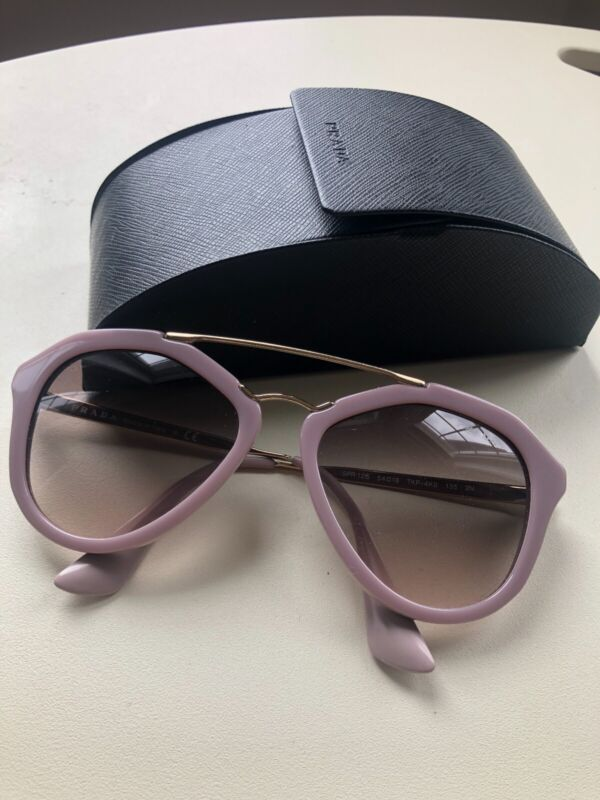 Authentic Excellent Used Prada Sunglasses with Case Made In Italy