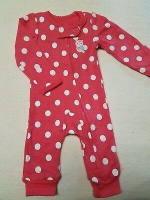 Preemie baby girl romper Simple Joys by Carter
