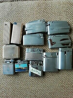 Joblot Of Vintage Lighters spares or repair