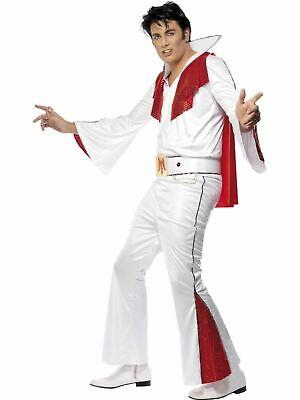Elvis Presley Mens Fancy Dress Costume Stag Party - Elvis Outfit