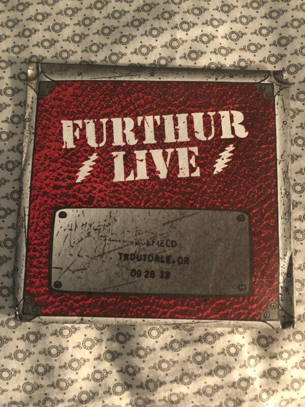 GRATEFUL DEAD / FURTHUR Live 3cd Set New Old Stock - Pristine Condition