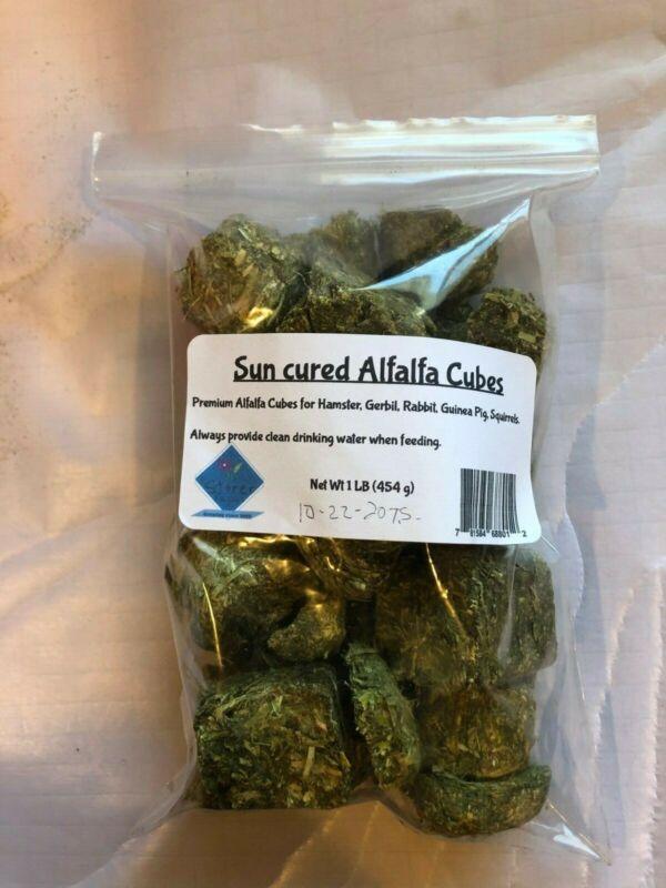 1 Lb. Premium Alfalfa Cubes